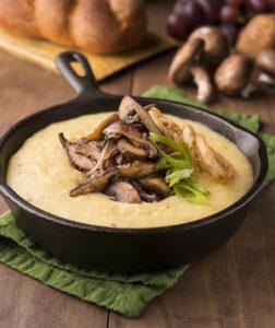 Creamy Polenta with Mushroom